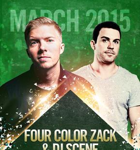 Four Color Zack & DJ Scene