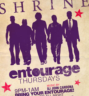 Entourage Thursdays with DJ John Cardona