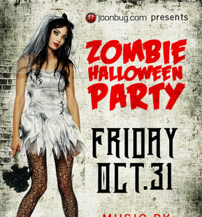 Zombie Halloween Party with DJ JD